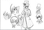 Ciel Phantomhive Model sheet by rookiecomics07