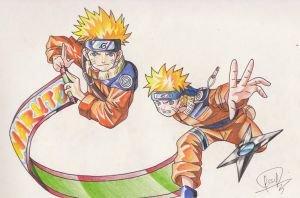NARUTO by J-S-S-C