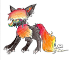 Fire Monster Thingy by majorma