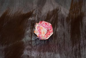 Japanese Brocade Kusudama by karatechick13