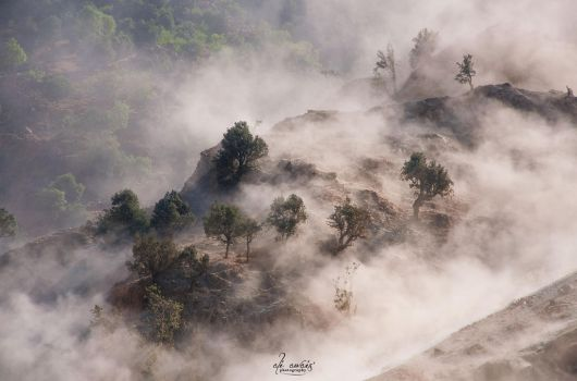 Dust Clouds by aliawais