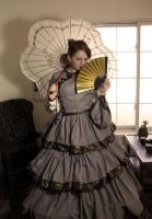 1850's Asian inspired Gown by Picklethis