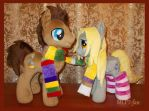 Dr Whooves and Derpy Hooves by MLPT-fan