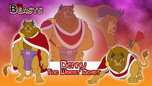 Beasts Wallpaper 5 - Benny the Beast by BennytheBeast