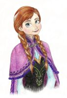 Anna portrait by Xijalle