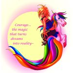 Courage is magical by ishmini