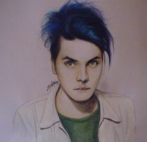 Gerard Way pencil by PandorasBox341