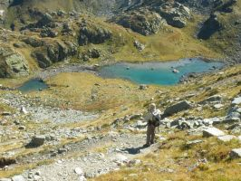 Lake Lausetto (2332m) by FraterSINISTER