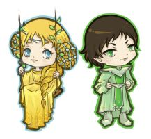 Chibi Emrah and Jurre by fee-absinthe