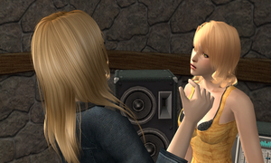 Discuter entre blondes. by theBloodRaven