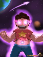 Steven full power by CoreZmanga