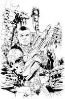 Mass Effect Homeworlds 1 variant ink by MisterHardtimes