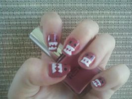 Domo Nail Art by MissDaniLips