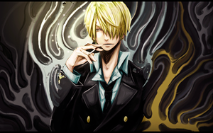 Sanji Smudge by XxbryanxX96