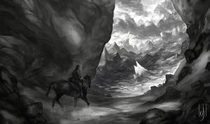 Lone rider by Friis
