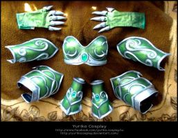 Ysera armor parts by YurikoCosplay