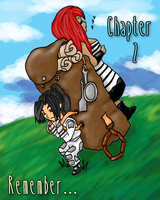 FKxSVAdventure Comic Chapter 2 Cover Fin by fargokraft