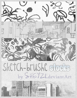 sketch brushe stocks by sheyzi