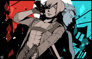 devil may cry 3 by shunao
