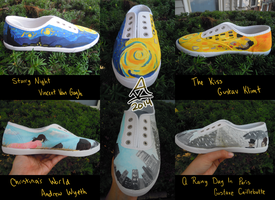 Art Museum Shoes by GoWaterTribe