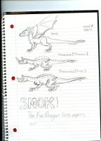 Cast of Smok! The Fire Dragon Lives again by Dinoboy134