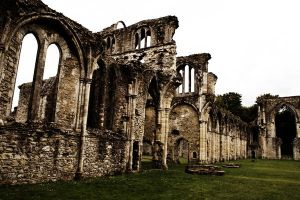 Netley Abbey - Ruins by Kaz-D