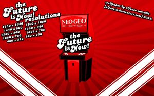 The Future is NOW - Neo Geo by Alforata
