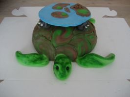 A'Tuin Cake by Naera