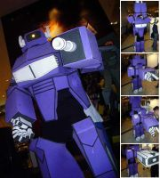 Decepticon Shockwave Costume by eva-guy01