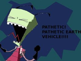 zim hates earth cars by invaderzimlover12