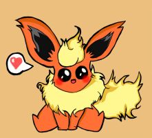 Flareon CUTE by davidfaraum
