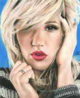 Ellie Goulding by blindmasterpiece