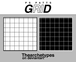 Grids |PS PATTERNS by Thearchetypes