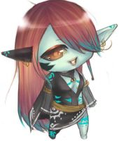 Chibi Request - Jezzale by Loves-Chihuahuas