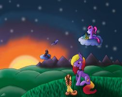 Contest Entry: Setting Sun by Bluesapphire97