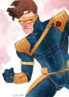 Cyclops Sketch by kevinwada