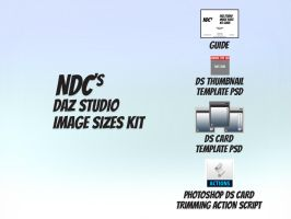 NDC DS Image Sizes Kit by 3DNDC