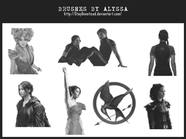 Hunger Games Brushes (1) - Cut Outs by StayUnnoticed