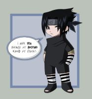 Sasuke's Hate by pinali