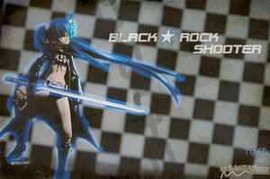 Black Rock Shooter Wall 2 by T1A60