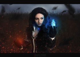 Yennefer by Almost-Human-Cosband