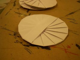 Oragami gift CD holder front by MuseumGirl