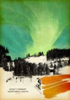 Dont forget northern light by Pikknick