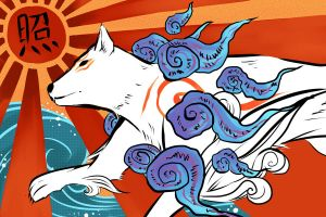Okami - Sun Goddess by dbrloveless