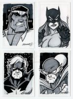 Sketch Card Donations by RobKramer
