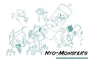 Nyo-Monsters 9 Lives by Japoshi