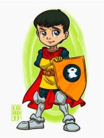 Lil Eric the Cavalier by lordmesa