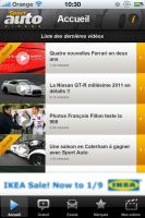 Projet d'application Iphone pour SportAuto 2 by JFDC