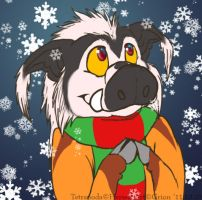 Snowflakes :3 - commission by Grion