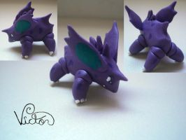 33 nidorino by VictorCustomizer